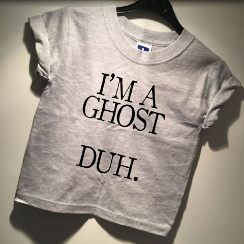 Kids I'M A GHOST, DUH.  Halloween T-Shirt